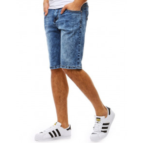 Šortai (Spodenki jeansowe męskie niebieskie SX0814 - Drabuziai rubai internetu
