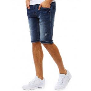 Šortai (Spodenki jeansowe męskie granatowe SX0815 - Drabuziai rubai internetu
