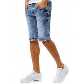 Šortai (Spodenki jeansowe męskie niebieskie SX0817 - Drabuziai rubai internetu