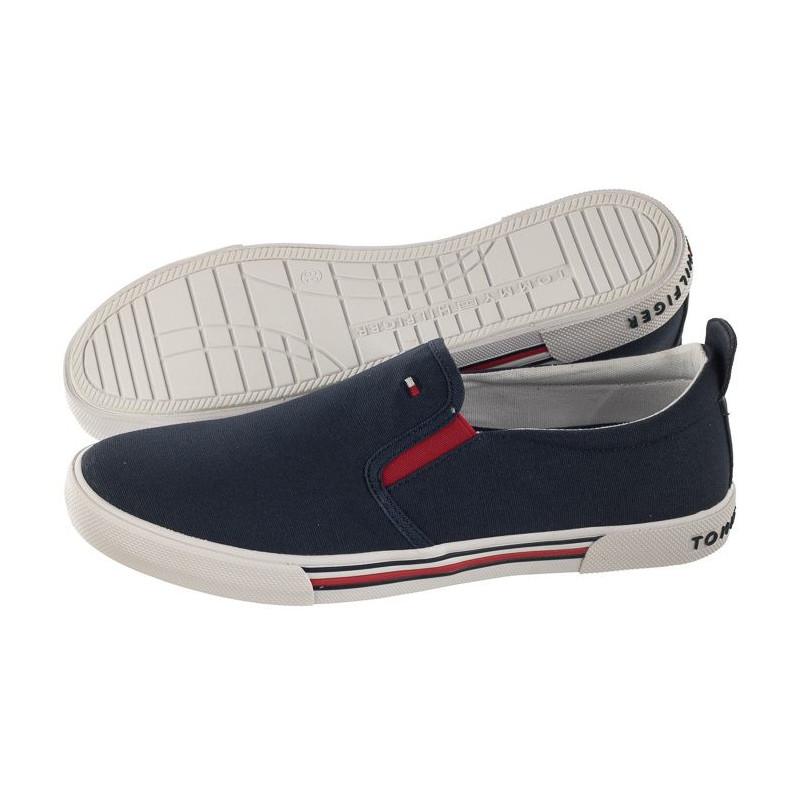Tommy Hilfiger Slip-On Sneaker T3B4-30279-0034 800 Blue (TH44-b) bateliai