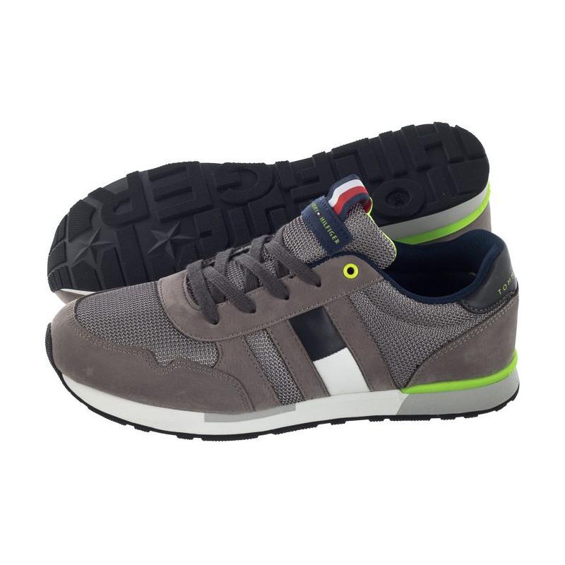 Tommy Hilfiger Lace-Up Sneaker T3b4-30080-0316 900 Grey (TH47-a) bateliai