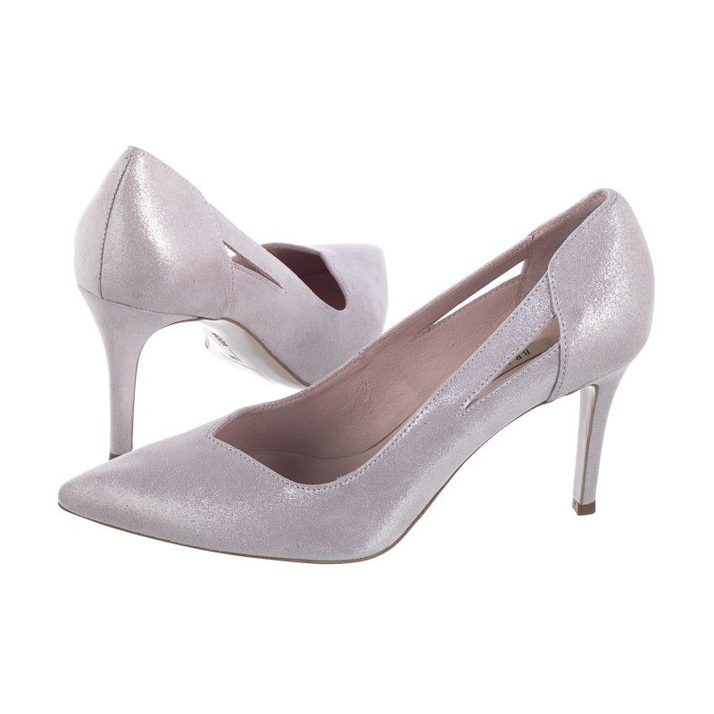 Bravo Moda Różowe 1740 Cipria Lamina (BR6-a) batai