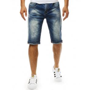 Šortai (Spodenki jeansowe męskie niebieskie SX0784 - Drabuziai rubai internetu