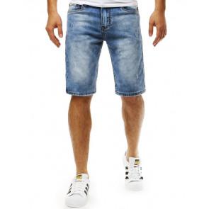 Šortai (Spodenki jeansowe męskie niebieskie SX0788 - Drabuziai rubai internetu