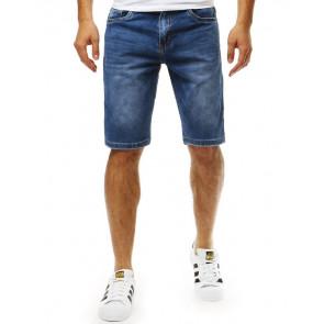 Šortai (Spodenki jeansowe męskie granatowe SX0790 - Drabuziai rubai internetu