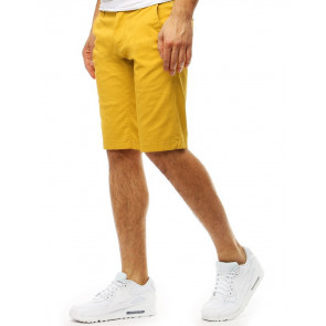 Šortai (Spodenki męskie żółte SX0796 - Drabuziai rubai internetu