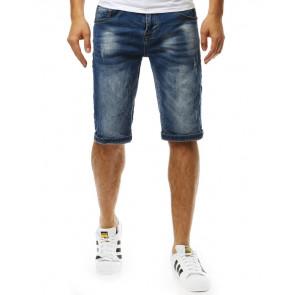 Šortai (Spodenki jeansowe męskie niebieskie SX0822 - Drabuziai rubai internetu