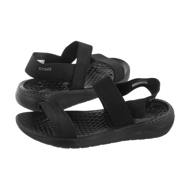 Crocs Literide Sandal W Black 205106-060 (CR169-a) sandalai