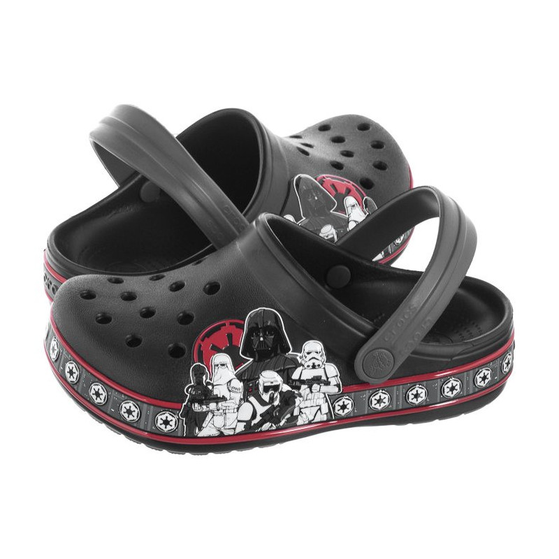 Crocs CrocsFL Empire Band Clg K Black 205502-001 (CR177-a) avalynė