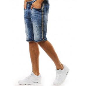 Šortai (Spodenki męskie jeansowe niebeiskie SX0931 - Drabuziai rubai internetu