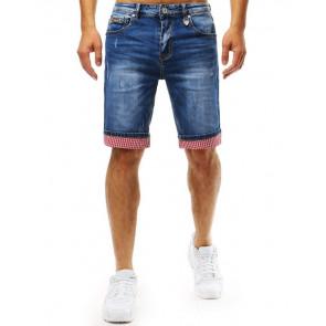 Šortai (Spodenki jeansowe męskie niebieskie SX0940 - Drabuziai rubai internetu