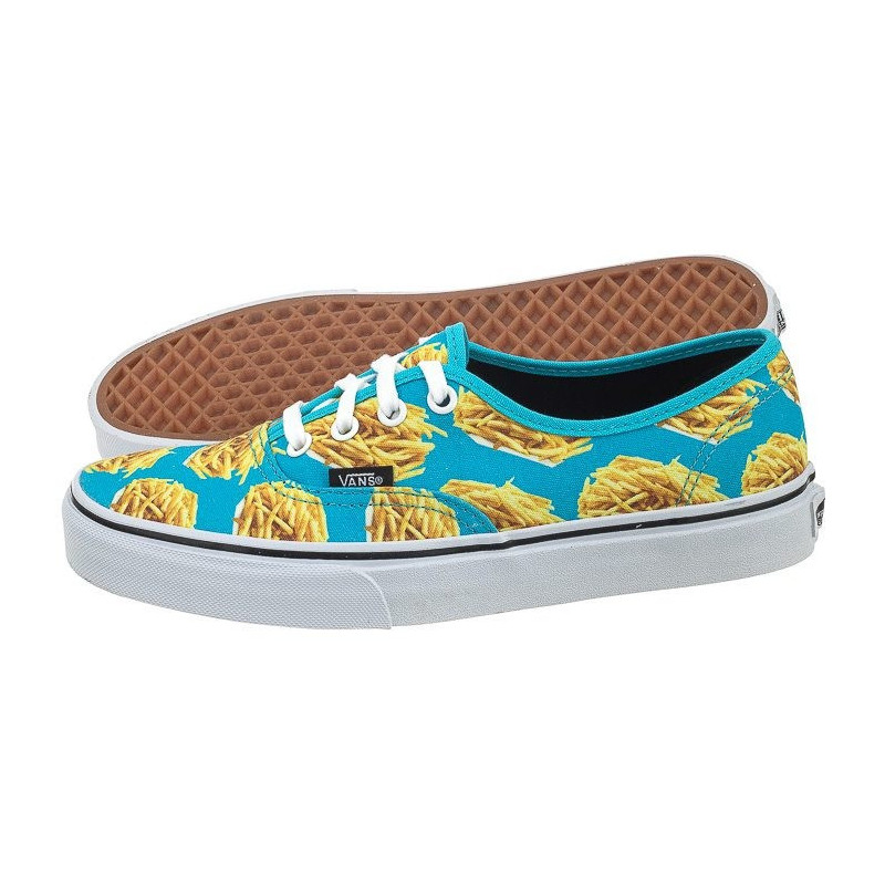 Vans Authentic (Late Night) Blue Atoll/Fries V4MKIFB (VA126-b) bateliai