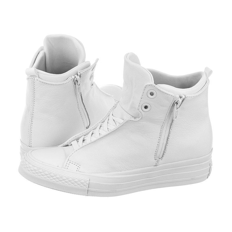 Converse CTAS Selene Monochrome Leather 553327C (CO287-b) bateliai