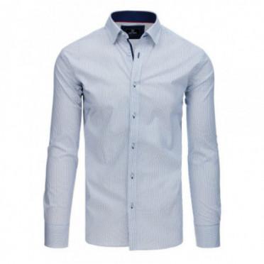 Marškiniai (Koszula męska PREMIUM z długim rękawem biała DX1766 - Drabuziai rubai internetu