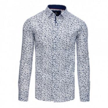 Marškiniai (Koszula męska PREMIUM z długim rękawem biała DX1768 - Drabuziai rubai internetu