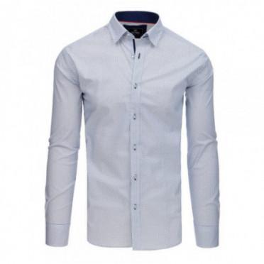 Marškiniai (Koszula męska PREMIUM z długim rękawem biała DX1771 - Drabuziai rubai internetu