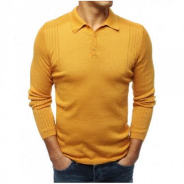 Megztinis (Sweter męski kamelowy WX1422 - Drabuziai rubai internetu