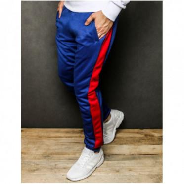 Kelnės (Spodnie męskie dresowe niebieskie UX2298