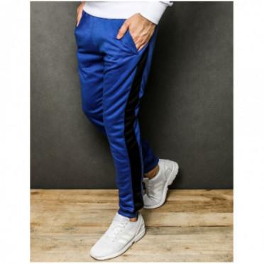 Kelnės (Spodnie męskie dresowe niebieskie UX2300