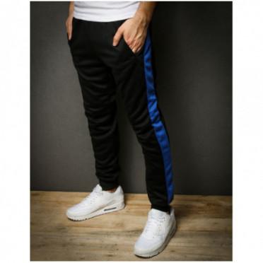 Kelnės (Spodnie męskie dresowe czarne UX2289