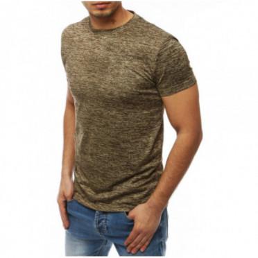 Marškinėliai (T-shirt męski beżowy RX4016