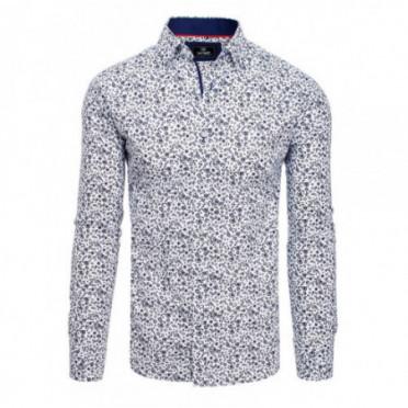 Marškiniai (Koszula męska PREMIUM z długim rękawem biała DX1818